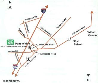 Lorton Station Best Simple Stick Map